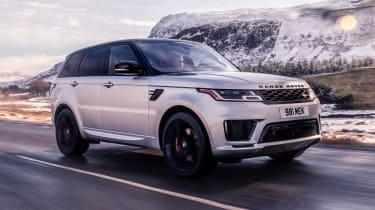 Range Rover Sport HST - front action