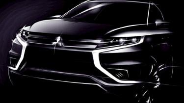 Mitsubishi Outlander Concept-S front