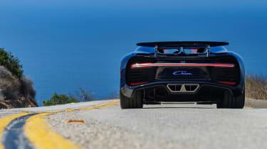 Bugatti Chiron - The Quail rear 2