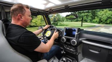 Jeep's wildest concepts driven - Safari interior