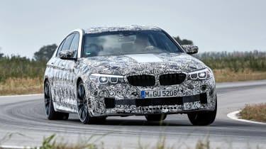 BMW M5 prototype - front action
