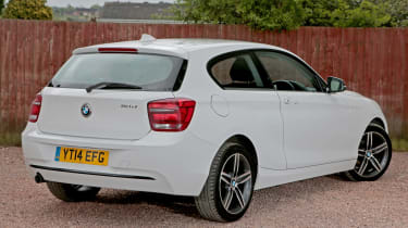 Used BMW 1 Series - rear