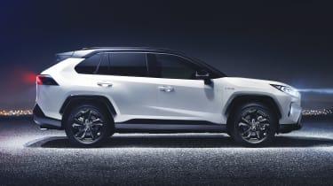 New Toyota RAV4 - side