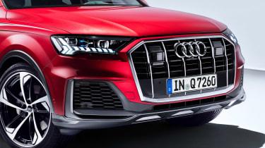 Audi Q7 - studio grille