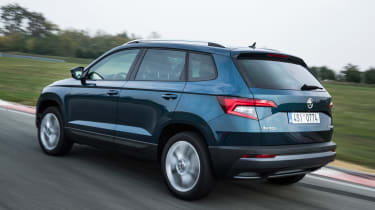 Skoda Karoq - rear action