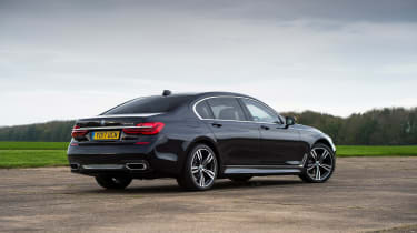 BMW 7 Series - rear static