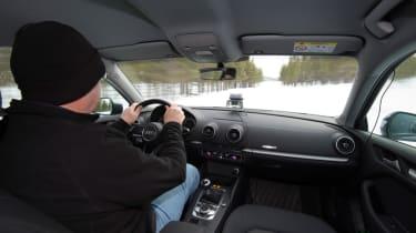 2017/18 winter tyre test - cabin