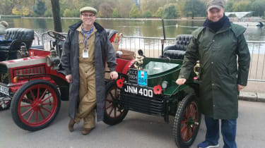 London to Brighton Veteran Car Run  -  header