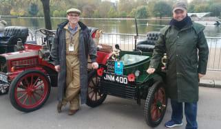London to Brighton Veteran Car Run  -  header