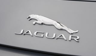 Jaguar F-Type V6S badge
