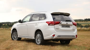 Mitsubishi Outlander PHEV - rear