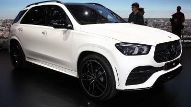 New Mercedes GLE side quarter