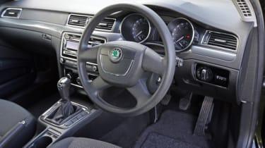 Used Skoda Superb interior