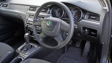 Used Skoda Superb interior