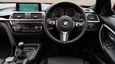 BMW 340i - dash