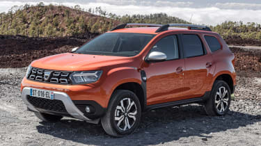 Dacia Duster facelift - front static