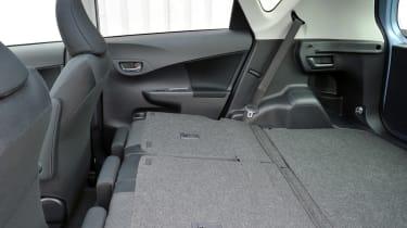 Toyota Verso-S rear seats folded