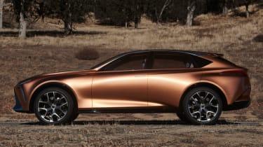 Lexus LF-1 Limitless - side profile