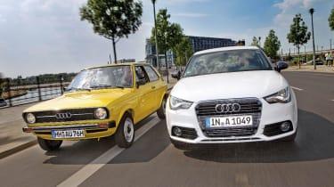 Audi A1 vs Audi 50
