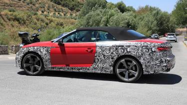 Audi S5 Cabriolet - spyshot 5
