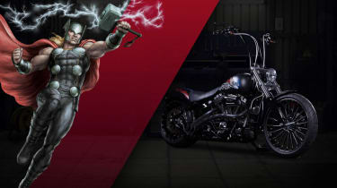 Harley Davidson Marvel Super Hero Customs - Thor Fearless