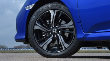 Honda Civic diesel - wheel