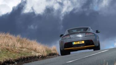 Aston Martin V12 Vantage S 2016 - rear driving