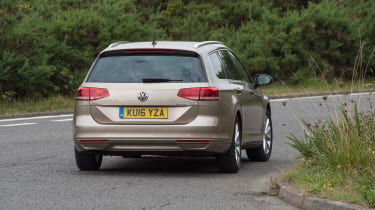 Volkswagen Passat Estate - rear cornering