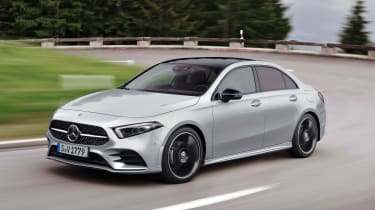 Mercedes A-Class Saloon - front action