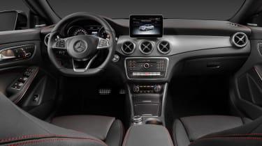 Mercedes CLA 2016 interior