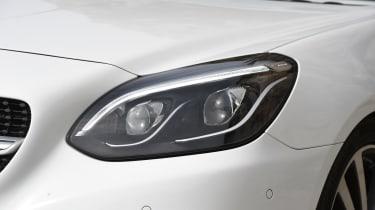 Mercedes SLC roadster 2016 - headlight