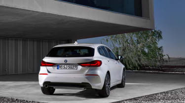 New BMW 1 Series 2019 rear 2