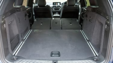 BMW X3 - boot seats down