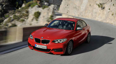 BMW 2 Series coupe 2014 front
