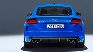 Audi TT S - studio full rear