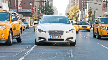 Jaguar XF in New York