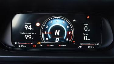 Hyundai i20 N - dials 1
