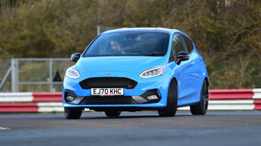 Ford Fiesta ST Edition - front cornering