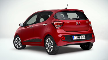 Hyundai i10 2016 facelift - rear quarter