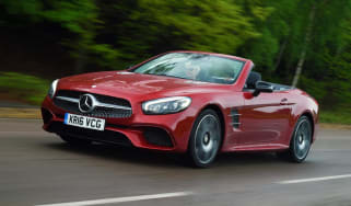 Used Mercedes SL - front