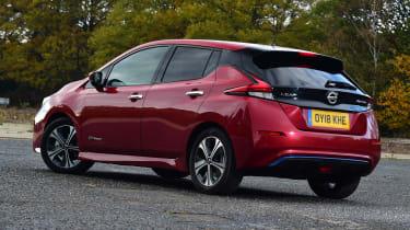 Nissan Leaf - rear static