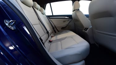 vw golf mk7 rear seats legroom