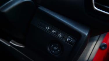 Citroen e-C4 long termer - first report buttons