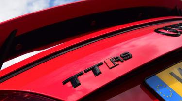 Audi TT RS - badge