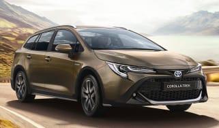 Toyota Corolla TREK - front tracking