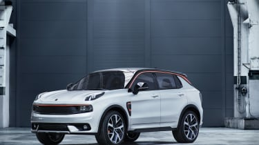 Lynk and Co SUV concept front