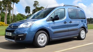Citroen Berlingo 2016 - front tracking