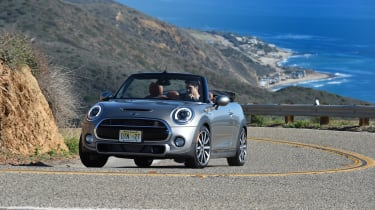 MINI Cooper S Convertible 2016 review - front cornering