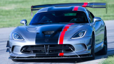 Fastest Nurburgring lap times - Dodge Viper ACR