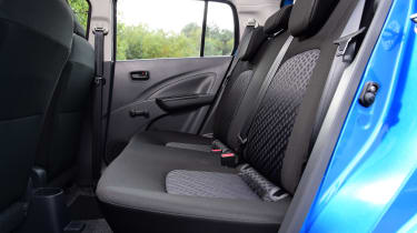 Suzuki Celerio rear seats